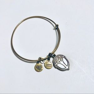Alex and Ani Gold Unexpected Miracles Bracelet